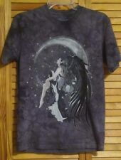 ONYX ANGELT-SHIRT THE MOUNTAIN FAIRY MOON & STARS GOODESS SIZE SMALL