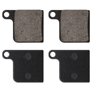 4X Bicycle Semi-metallic Disc Brake Pads Compatible with Giant NTH MPH MPH2