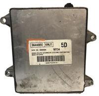 07 2007 Chevrolet Aveo 1.6L A/T ECM ECU Engine Control Module Unit   96440897