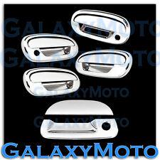 97-03 Ford F150 Triple Chrome 4 Door Handle+Keypad+w/PSG KH+Tailgate Cover