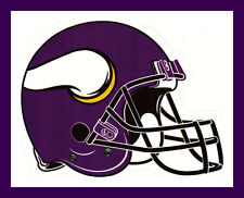 MINNESOTA VIKINGS FOOTBALL NFL HELMET DECAL STICKER TEAM LOGO~BOGO 25% OFF