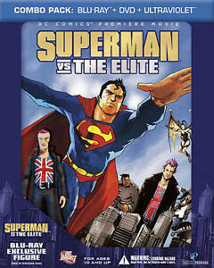 Superman vs. The Elite (Blu-ray/DVD, 2012) NEW SEALED