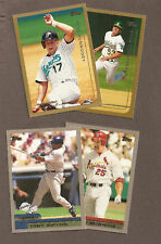 you pick any, 20 card lot from the 1998 / 1999 / 2000 Topps baseball set