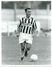 1995 ANGELO DI LIVIO  Foto originale Juventus precampionato