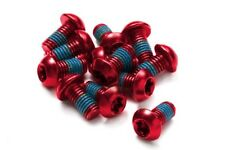 Reverse Bremsscheibenschraube - rot