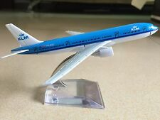 KLM AIRLINES BOEING 777 Passenger Airplane Plane Metal Diecast Model Collection