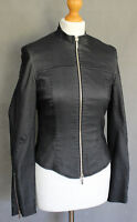 KAREN MILLEN Ladies Dark Denim Style JACKET / COAT - Size UK 10