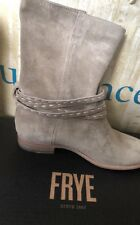 NIB FRYE For Sundance SUEDE MID CALF PULL ON BOOTS SZ 8.5 M NEW