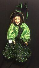"Katherine's Collection Wayne Kleski Retired 24"" Halloween Witch Doll"