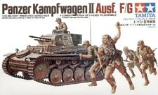 Tamiya 1/35 Panzerkampfwagen II with crew of 5 # 35009