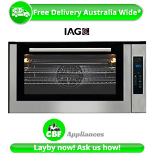 IAG IOM9SE4 90cm 900mm Electric Rotisserie Oven 10 Function 105L Sensor Touch