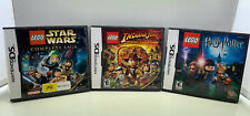 3 X LEGO DS GAMES Star Wars, INDIAN JONES & HAPPRY POTTER ALL COMPLETE MANUALS