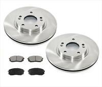 Fit For 12-15 Evoque Frt /& Rr  Disc Brake Rotors  Ceramic Pads 100/% All New