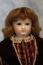 18 Inch Antique Bisque French Fashion Doll 1870s by Eugene Barrois Paris France
