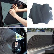 Hot 2Pcs Car Window Side Sun Shade Cover Block Static Cling Visor Screen Black Z