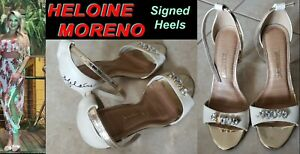 Sensational Sexy Playboy Supermodel HELOINE MORENO Signed/Owned/Worn Heels/Shoes