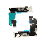 USB Charging Port Dock & Headphone Jack Mic Flex Cable For iPhone 6 Plus White