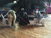 Star Wars Hallmark 2015 Yoda, Darth Vader & R2D2 Christmas Tree Ornaments