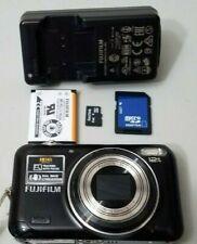 Fujifilm FinePix JZ Series JZ300 12.1MP Digital Camera Bundle - Black *GOOD*