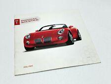 2006 Pontiac Solstice Brochure