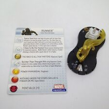 Heroclix Infinity Gauntlet set Runner #005 Limited Edition figure w/card!