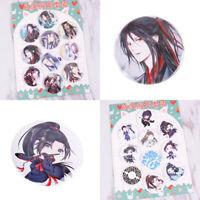 10 Pack Anime MO DAO ZU SHI 58mm Lot Pin Brooch Badge Button Set Accessori Hot