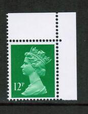 GB 1986 SG X897Ea 12p brt Emerald band at left, Machin DX7 booklet MNH