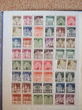 Berlin 1966/69 **  Freimarken Bauwerke II Einzelmarken und Paare kompl.  postfr