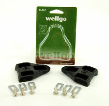 WELLGO LOOK DELTA BLACK 3 Degrees Float Road Bike Pedal Cleats