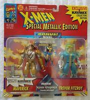 Metallic Edition X-Men Kay Bee Pack Maverick /& Trevor Fitzroy 2 KB Exc