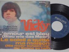 "VICKY -L' amour est bleu- 7"" 45"
