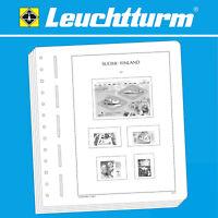 LEUCHTTURM SF-Vordruckblätter Finnland 1856-2018  Varianten