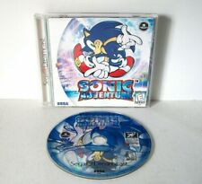 Sonic Adventure (Sega Dreamcast) Complete w/ Manual Original Label 3D Platformer