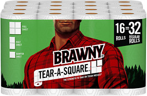 Square Paper Towels Three Sheet Size Options Home Accessories Indoor Improvement