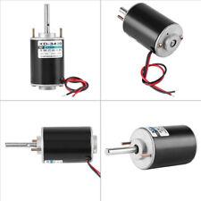12/24V 30W Permanent Magnet DC Electric Motor High Speed CW/CCW DIY Generator LJ