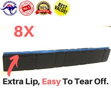 8Pcs BLACK Stick on Wheel balance Weights 5/10g Stronger Tape Rc Car Truck Tire