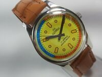 Vintage Roamer Mechanical Hand Winding Movement Mens Analog Wrist Watch C123