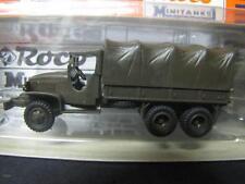 ROCO MINITANKS 553 GMC CCKW 353 Lkw 2,5 to 6x6 Ausführung 2.WK NEU&OVP X07-0114