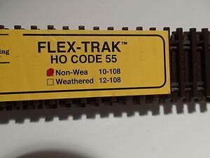 HO Micro-Engineering #10-108 HO-SCALE CODE 55 NON WEA FLEX-TRACK