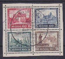 DR Mi Nr. 446 - 449 Herzstück Block 1 IPOSTA rund mit SST Berlin 1930, Dt. Reich
