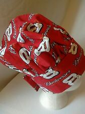 Chef Cap Budweiser Nascar King of Beers #8 Dale Jr. Hat Grilling Driver BBQ Dad