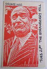 STRANGELINGS -1983 - Original PROMO POSTCARD - the STRAWBERRY HILL