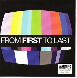 FROM FIRST TO LAST - 11 TRACK CD VGC (JOSH ABRAHAM)