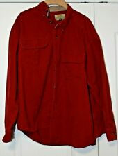 New listing Cabela's Chamois L/S shirt and Wrangler L/S flannel shirt Heavy duty Xxl