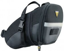 Topeak Aero Wedge Pack Under Saddle / Seat Bag Pack with Straps - Large