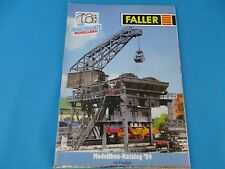 Faller Katalog Catalog 1984 D