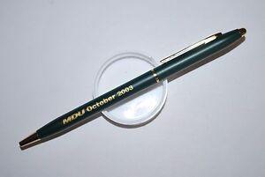 MDU October 2003 Vintage Kwik Klik Promo Ballpoint Pen Excellent Conditions