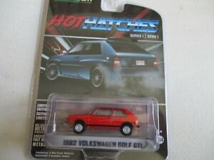 GREENLIGHT COLLECTIBLES 1/64 - VOLKSWAGEN GOLF GTI - 1982 - 47080B 3 INCHIES