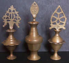 Oriental Art - 3 kohl containers - copper - India / Pakistan