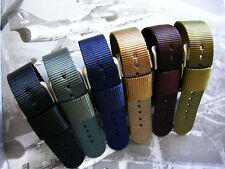 NATO ® 1pc RAF Heavy Nylon Military army Pilot Bund watch band strap IW SUISSE